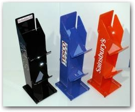 STANDS CAN BE COLOUR CODED AND BRANDED