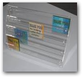 SELF ASSEMBLY CARD STAND  » Click to zoom ->